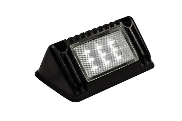 Lampa karetkowa czarna LKL-1, 12/2V