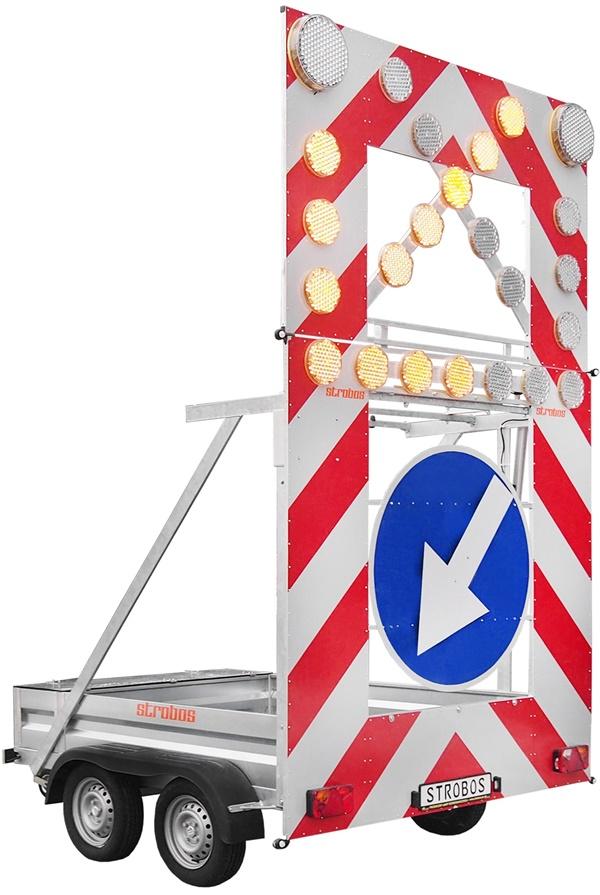 u26a strobos, Remorque FLR de signalisation embarquée