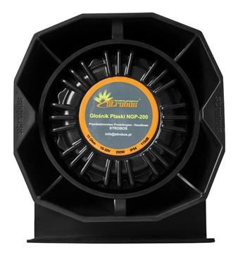 slim speaker, strobos głośnik ngp 200